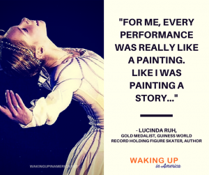 """Every performance was like a paiting."" - Lucinda Ruh, champion figure skater, 'Queen of Spin' and author"