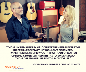 Those incredible dreams I couldn't remember were the Incredible Dreams That I Couldn't Remember - David DeLoach on #wakingupinamerica