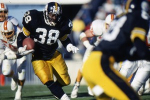 Tim Worley Playing for Pittsburgh Steelers