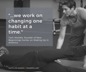 Tash Weddle on Waking Up in America talking about empowering lives through Fitness and Health